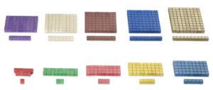 Montessori-Rechenstäbchen 100-tlg.