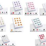Montessori-Material selbvstklebende Wortartensymbole