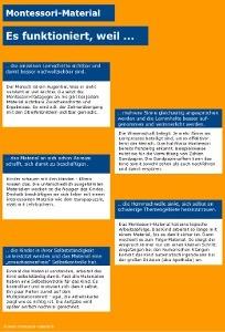5 gute Gründe warum Montessori-Material funktioniert.