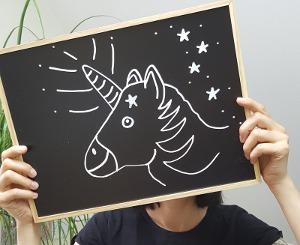 kostenloses Montessori Material - Was man zu Einhörnern wissen muß