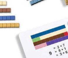 Zahlenraum bis 10 mit Montessori-Material erarbeiten