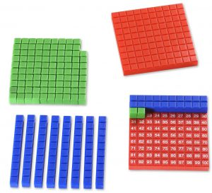 Montessori-Material Hundertertafel