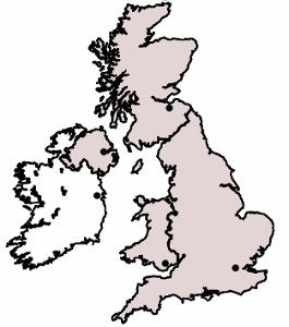 Landesteile Vereinigtes Königreich