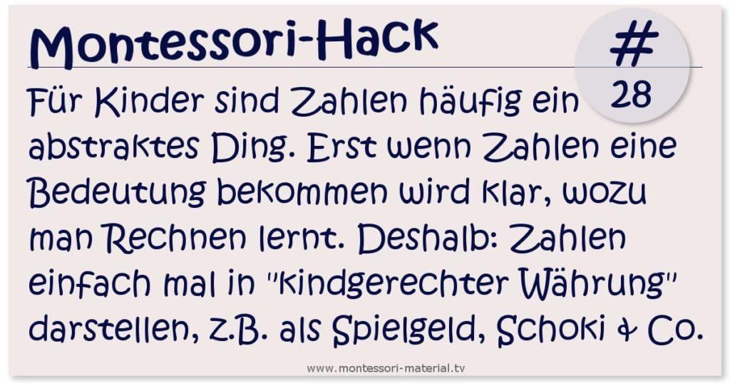 Montessori-Hack 28