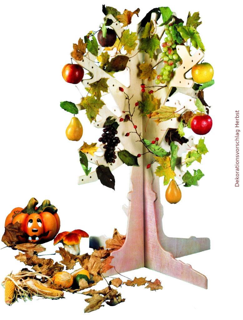 Montessori-Material Jahreszeitenbaum aus Holz