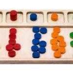 Sortiertablett Montessori-Material