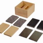 Montessori-Material Wärmeleittäfelchen